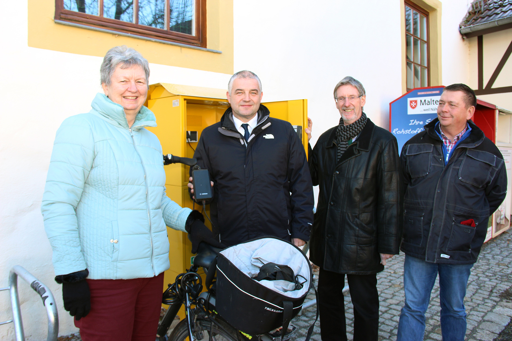 E Bike Ladestation Mhlberg